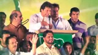 Short documentary on Imran Khan's speech on 14th August 2011