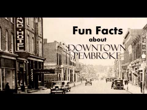 Downtown Pembroke Is A Great Place To Do Business :)