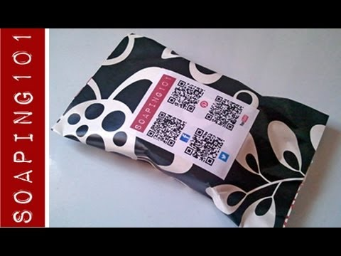 Packaging Handmade Soap {the paper pouch}