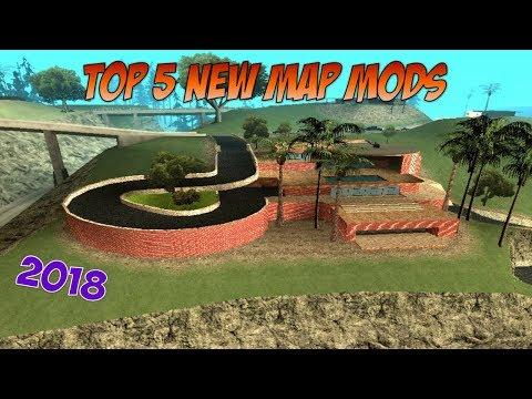 GTA San Andreas Top 5 New Map Mods 2018