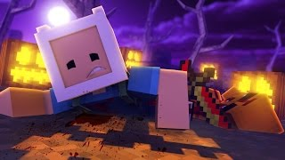 Minecraft: HORA DE AVENTURA NO HALLOWEEN!