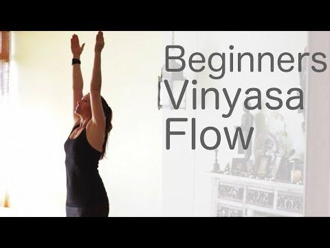 30 Minute Yoga for Beginners Vinyasa Flow (Free Yoga Class) | Fightmaster Yoga Videos