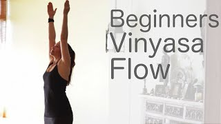 30 Minute Yoga for Beginners Vinyasa Flow (Free Yoga Class) | Fightmaster Yoga Videos