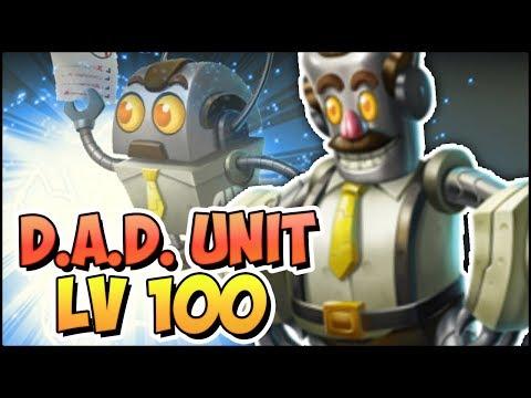 D.A.D. UNIT (LV 100) COMBATES PVP - Monster Legends Review