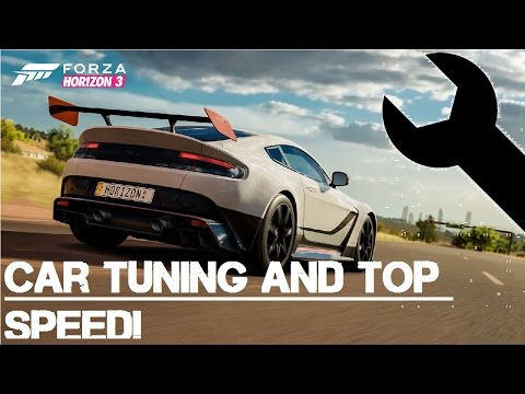 How to make your car faster in forza horizon 3