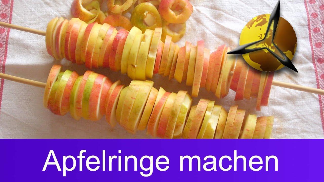 äpfel trocknen und lagern