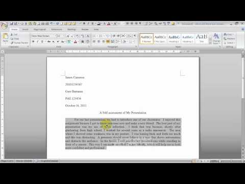 Mla style essay format word tutorial, Essay Academic Writing Service - Mla Format For Word