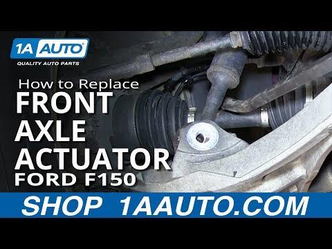 2004-2014 Ford F-150 4X4 Clicking Humming: Vacuum Hub Replacement | FunnyDog.TV