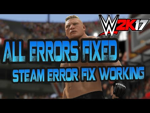 How To Fix wwe 2k17 all errors & solutions | Full Installation Video Working |