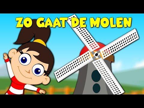 Nederlandse kinderliedjes - Zo Gaat de Molen etc.