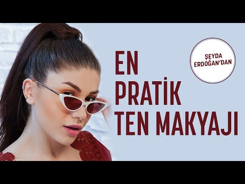 Tek Ürünle Çok Pratik Ten Makyajı  I Şeyda Erdoğan'ın Tatil Makyaj Çantası