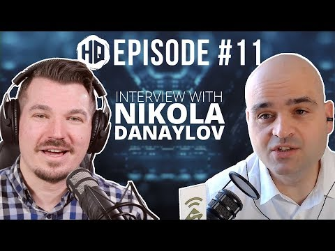 Artificial Intelligence & the Future of Technology with Nikola Danaylov - HQ #011