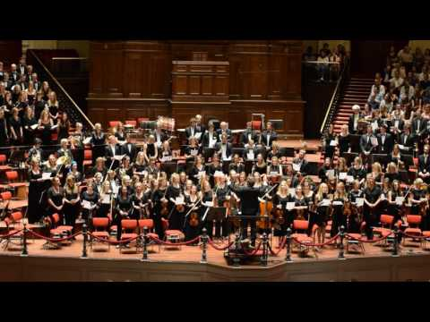 Abendlied -  Rheinberger. Concert at Royal Concert Building Amsterdam CREA Orkest And SKA