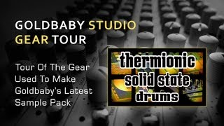 GoldBaby Samples - Thermionic Solid State Drums - Studio Gear