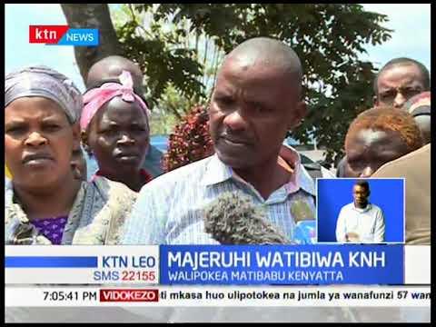 Majeruhi wa msiba wa shule watibiwa KNH