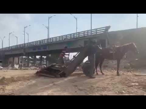 basurero a cielo abierto el puente siete de abril