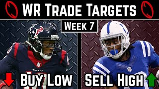 Wide Receiver Trade Targets - Week 7 - 2019 Fantasy Football Advice