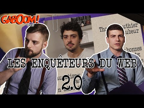 Les enquêteurs du web 2.0 - Thomas Gauthier