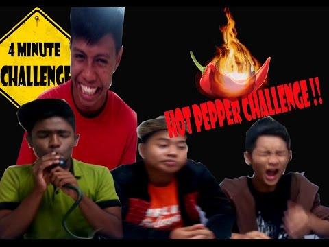 Hot pepper challenge