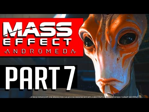 MASS EFFECT ANDROMEDA Walkthrough Part 7 MISSION: HUNTING THE ARCHON