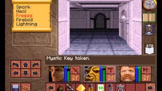 Lands of Lore: The Throne of Chaos PC (MS-DOS) Прохождение / Walkthrough part 3