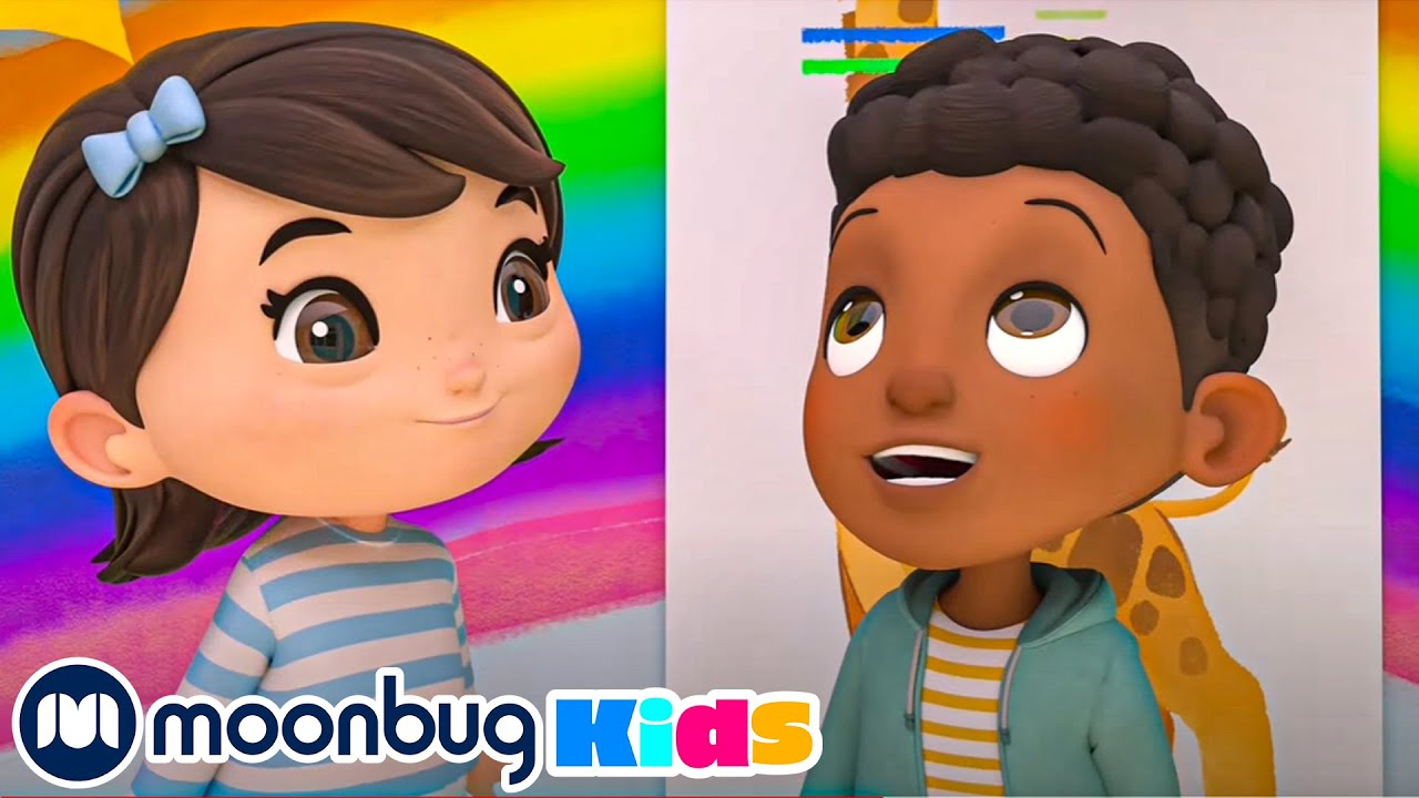 You're Growing Up Song - Bigger and Taller   Little Baby Bum Nursery rhymes   Moonbug Kids