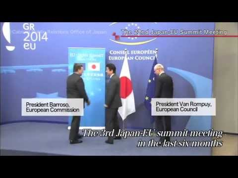 Prime Minister Abe Visits Six Countries in Europe