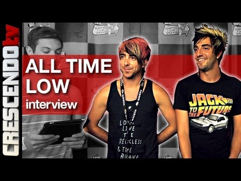 ALL TIME LOW interview   Leaving Interscope   So Many B00BZ (Alex Gaskarth + Jack Barakat)
