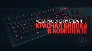 Капитан Дотан и  клавиатура Tt eSPORTS Meka Pro
