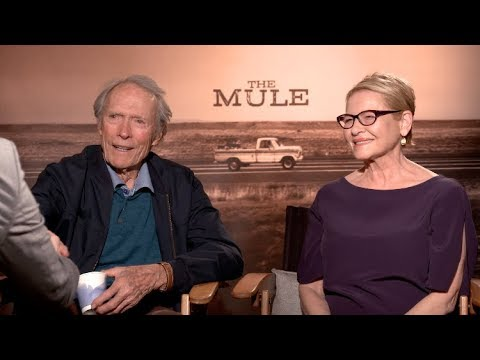 THE MULE Interview - Clint Eastwood, Dianne Weist - Eastwood Talks A Star Is Born
