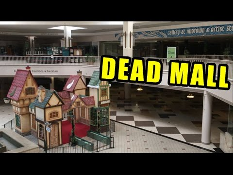 EXPLORING AND OPENING POKEMON CARDS IN A DEAD MALL!