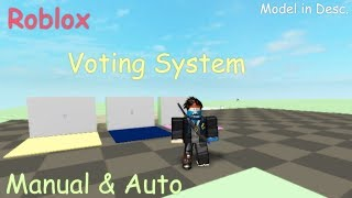 Roblox Abstimmungssystem Tutorial ( Handbuch * Automatisch ) | Roblox