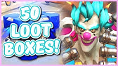 Overwatch - OPENING 50 STORM RISING LOOT BOXES