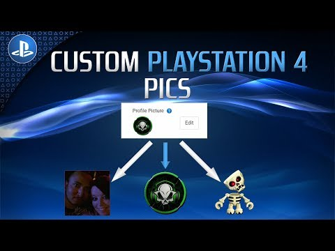 How To Get Custom Gamer Pics For Playstation 4 Youtube