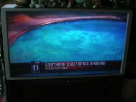 My Mexicali Earthquake Video seen on Fox HD 11