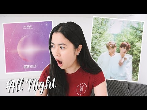 BTS RM & SUGA & Juice WRLD 'All Night' Reaction - Song Analysis | BTS WORLD OST Part 3