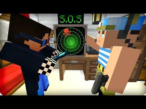Поймали сигнал SOS [ЧАСТЬ 42] Зомби апокалипсис в майнкрафт! - (Minecraft - Сериал)