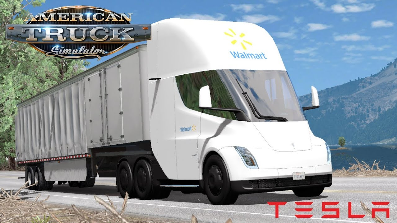 American Truck Simulator - Tesla Semi - Tesla 3 Enthusiast