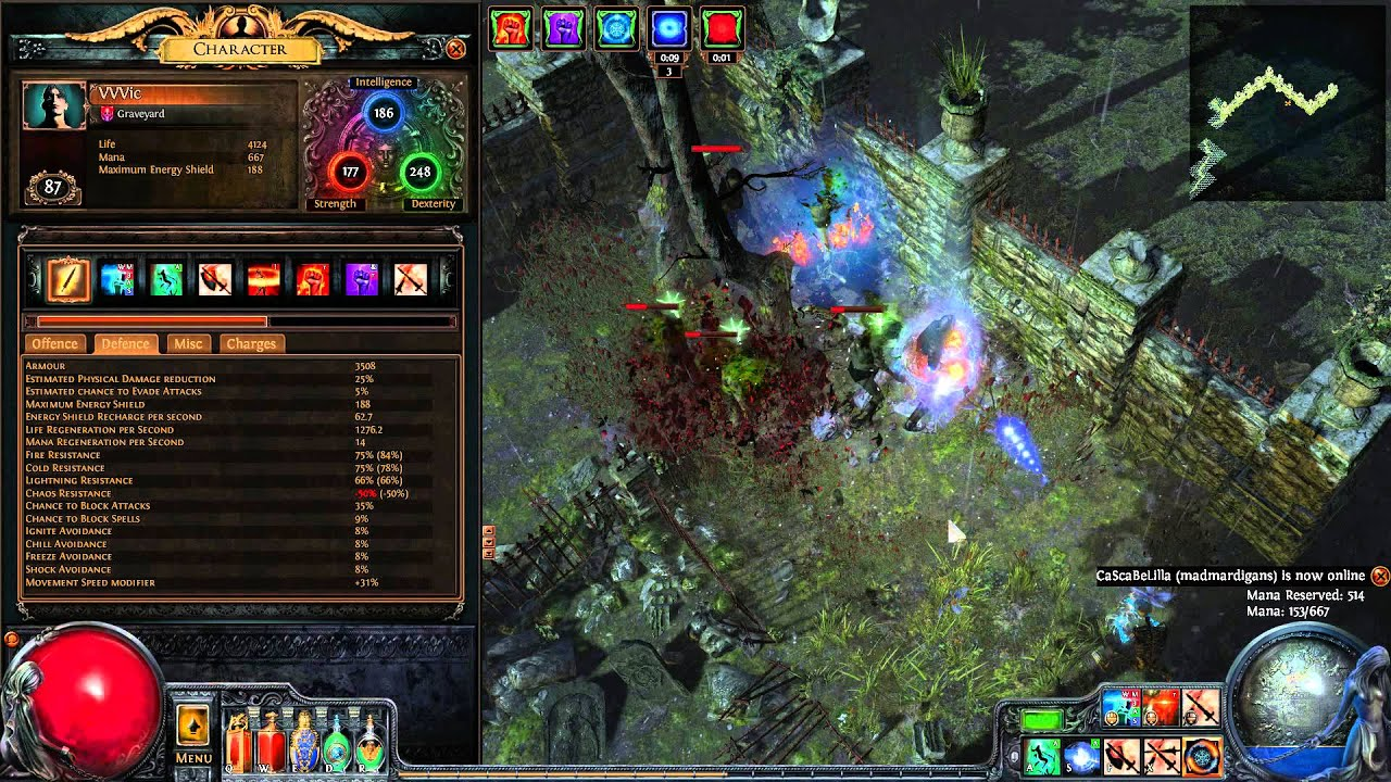 crit static strike shadow bino trigger synergy effect only 35
