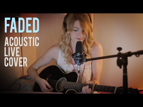 Faded - Alan Walker cover \\ Acoustic live session \\ by Claire Audrin