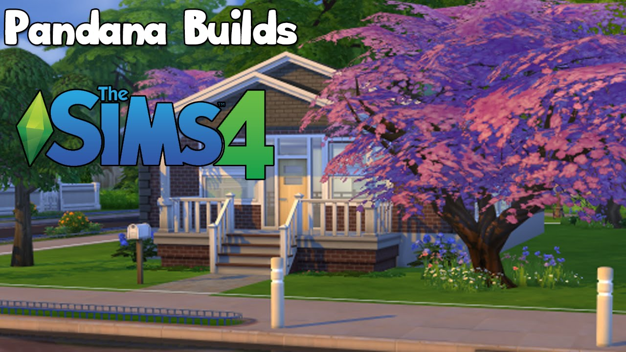 The sims 4 lets build 1 willow creek starter house youtube for The willow house