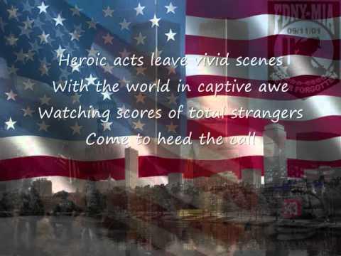 flags of freedom original poem memorial to 9 11 youtube