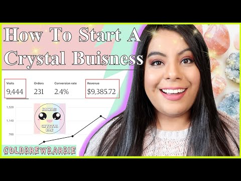 HOW TO START A CRYSTAL BUSINESS! | SHARING ALL MY SECRETS & TIPS |