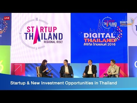 Startup & New Investment Opportunities in Thailand - YouTube