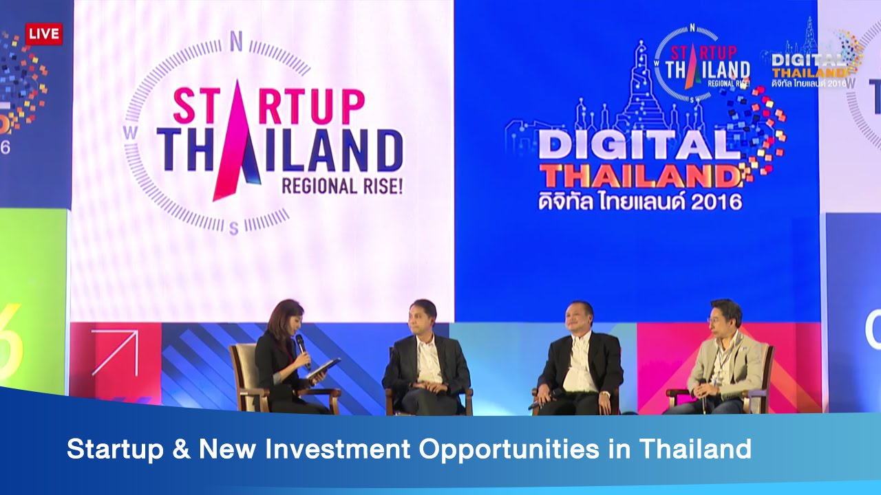 Startup & New Investment Opportunities in Thailand