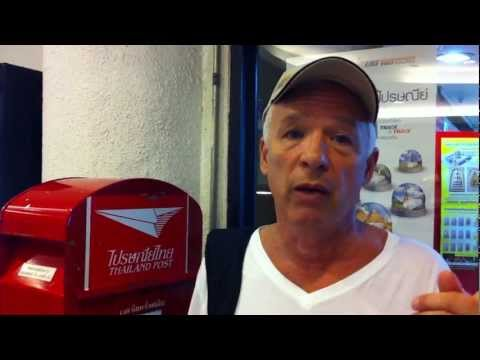 Bangkok Travel Tips Post Office Shipping Mail