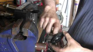 Installing an Arlen Ness Softail Lowering kit