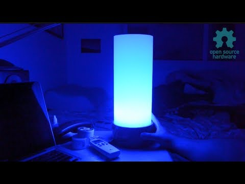 Open Source Hardware Moodlamp