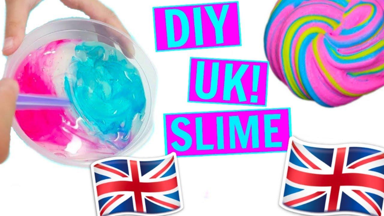 how to make slime in the u k no borax british slime uk. Black Bedroom Furniture Sets. Home Design Ideas