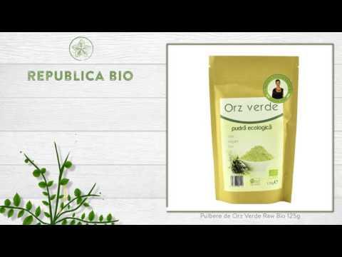 Pulbere de Orz Verde Raw Bio 125g